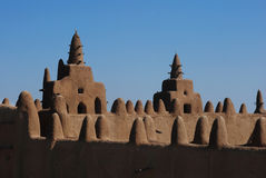 Mezquita magnífica de Djenne, Malí, África fotos de archivo libres de regalías