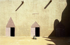 La gran mezquita, Djenne, Malí fotos de archivo
