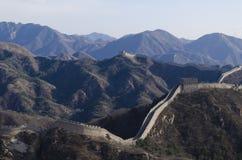 La Gran Muralla de Badaling en el condado de Yanqing Pekín China construyó en 1504 durante Ming Dynasty 1015 metros sobre nivel d fotografía de archivo