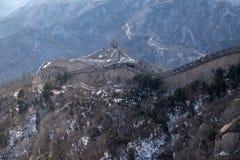 La Gran Muralla de China en Badaling, China fotografía de archivo