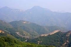 La Gran Muralla, un sitio Badaling foto de archivo libre de regalías