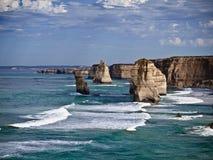 La gran opinión del camino del océano Fotos de archivo libres de regalías