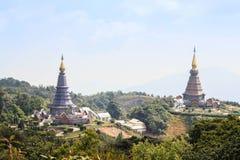 La gran pagoda santa Nabhapolbhumisiri de las reliquias; Templo Imagenes de archivo