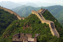 La gran pared china Foto de archivo libre de regalías