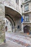 La gran puerta costera en Tallinn, Estonia Imágenes de archivo libres de regalías