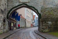 La gran puerta costera en Tallinn, Estonia Imagen de archivo libre de regalías