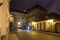 La gran puerta costera en Tallinn, Estonia Imagenes de archivo