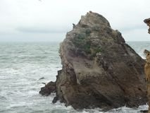 La gran roca fotografía de archivo libre de regalías