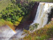 La Gran Sabana, caídas de Aponwao Fotografía de archivo