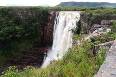 La Gran Sabana de la caída de Aponwao imagen de archivo libre de regalías