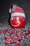 La granada de la sonrisa, Feliz Año Nuevo, casa la Navidad Fotografía de archivo libre de regalías