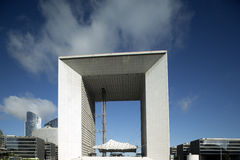 La grand arch, la defence Stock Images