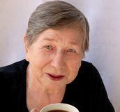 La grand-mère de sourire Photographie stock libre de droits