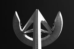 La grande antenne image libre de droits