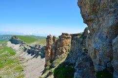 La grande arête des roches Image stock