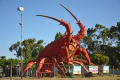 La grande aragosta a Kingston, S E Fotografia Stock