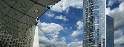 La Grande Arche. Υπεράσπιση Λα, Παρίσι, Γαλλία. Στοκ φωτογραφίες με δικαίωμα ελεύθερης χρήσης