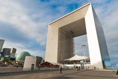 La Grande Arche de Λα Defense Στοκ Φωτογραφίες
