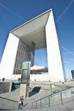 LA GRANDE ARCHE, DE DEFENSIE VAN LA, PARIJS Stock Foto's