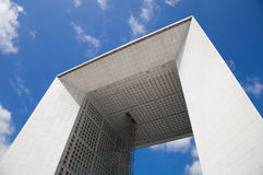 La Grande Arche de la Defense Photo stock
