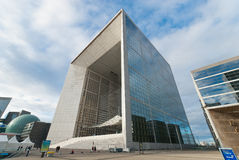 La Grande Arche de La Defense Stock Photography