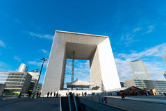 La Grande Arche de La Defense Royalty Free Stock Image