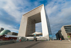 La Grande Arche de La Defense Royalty Free Stock Photography