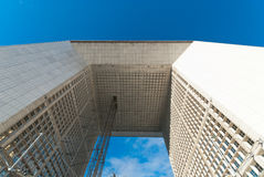 La Grande Arche de La Defense Stock Photo