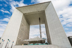 La Grande Arche de la Dfense Royalty Free Stock Photography