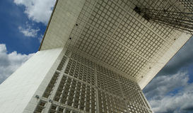 La Grande Arche. La Defense, Paris, France Stock Images