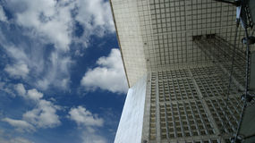 La Grande Arche. La Defense, Paris, France. Royalty Free Stock Photo