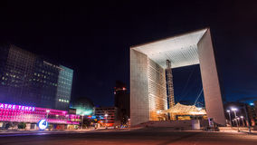 La Grande Arche in Paris Stockbild