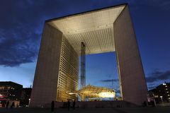 La Grande Arche, Paris Royalty Free Stock Photo