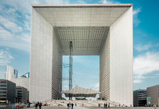 La Grande Arche Royalty Free Stock Photos
