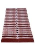 La grande barra di cioccolato Fotografie Stock Libere da Diritti