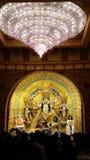 La grande beauté de l'image de Durga Image stock