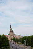 La grande belle cathédrale Photo stock