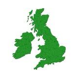 La Grande-Bretagne chiffonnée Image libre de droits