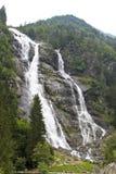 La grande cascata Fotografie Stock Libere da Diritti