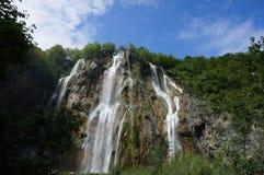 la grande cascata Immagini Stock Libere da Diritti