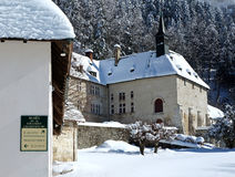 La Grande Chartreuse Monastery, France Stock Images