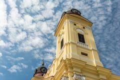 La grande chiesa protestante riformata Immagini Stock