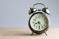 La grande cloche s'assure se réveillent Photo stock