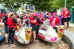 La grande corsa del fiume Immagine Stock Libera da Diritti