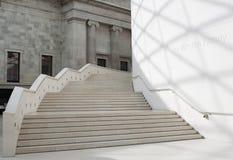 La grande corte in British Museum a Londra Fotografie Stock Libere da Diritti