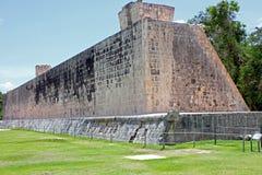 La grande corte della palla a Chichen Itza, Yucatan, Messico Immagine Stock Libera da Diritti