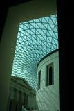 La grande corte, interiore di British Museum Fotografia Stock