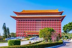 La grande costruzione dell'hotel Immagine Stock