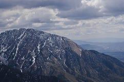 La grande crête du mont Olympe images stock