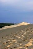 La grande duna di Pyla (o di Pilat) Immagini Stock Libere da Diritti
